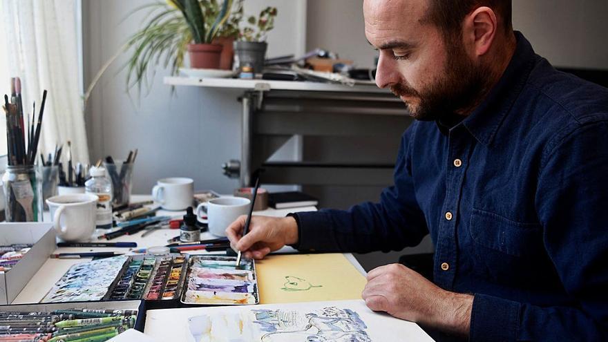 Ilustración artesana para colarse en los Oscar