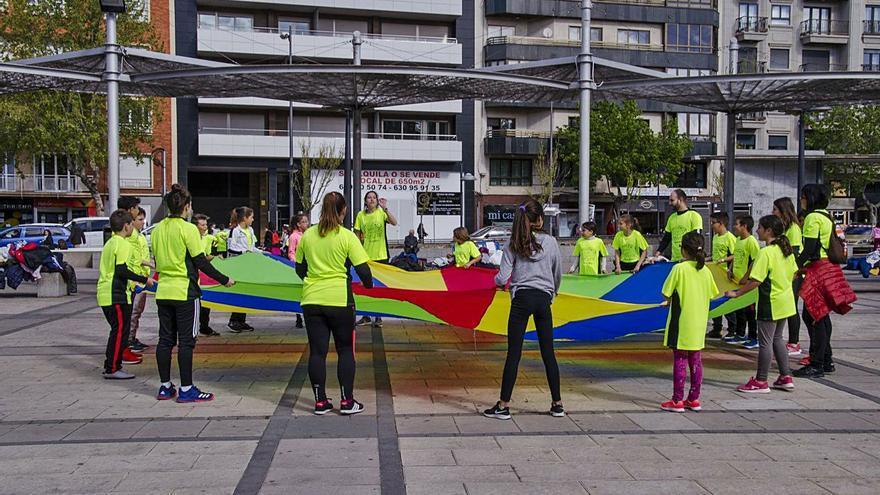 Asignatura en movimiento en Zamora
