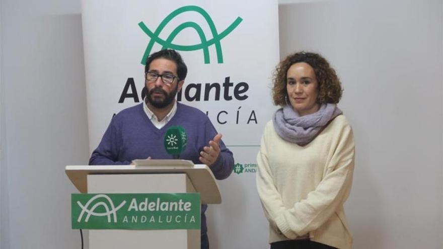Adelante Andalucía critica las primeras medidas del Gobierno por no luchar contra el paro