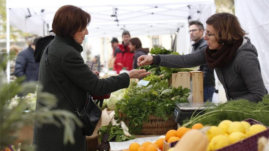El Ecomercado regresa este sábado al Bulevar Gran Capitán
