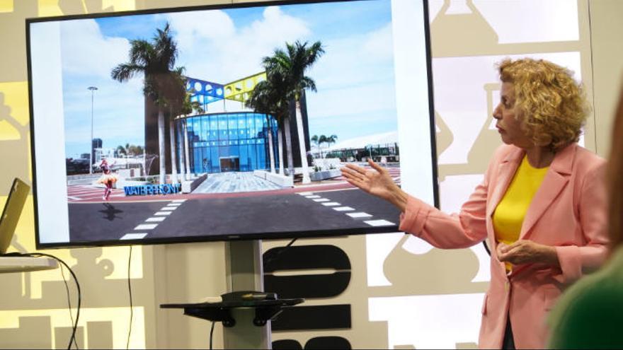 Nardy quiere un espacio para ocio y artistas en la vieja estación de jet foil