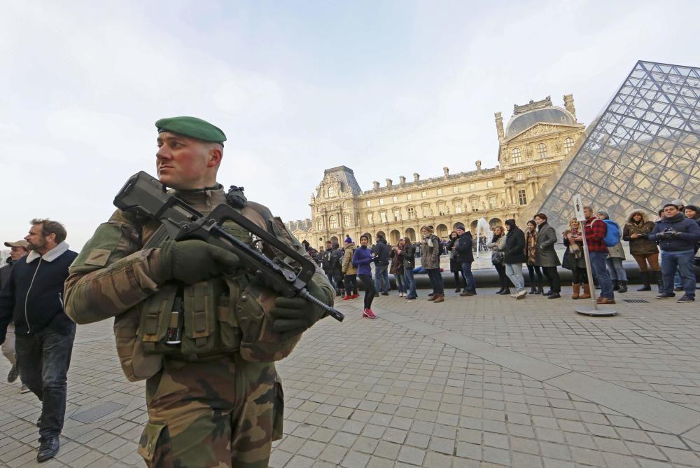 Medidas de seguridad en París.