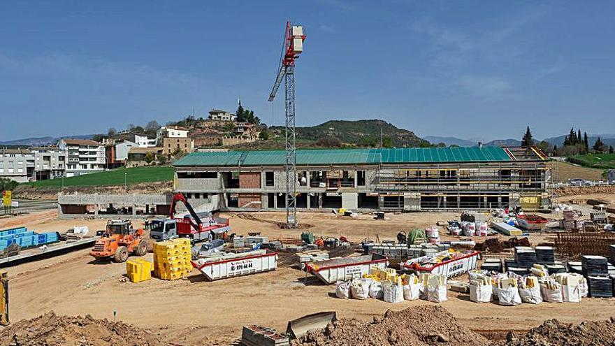 La constructora de l'escola El Vinyet preveu que l'obra s'acabi el novembre