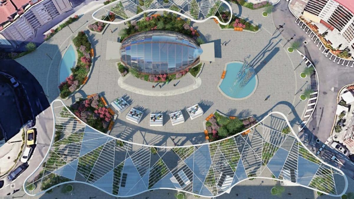 La transformación de la Plaza Elíptica es una de las obras previstas.