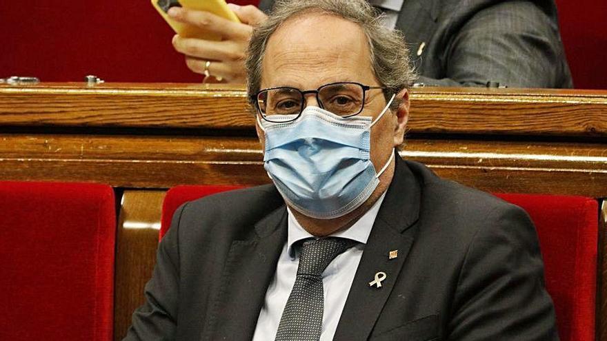Torra ordena que la Generalitat es personi en el cas 3%, que investiga l'antiga CDC