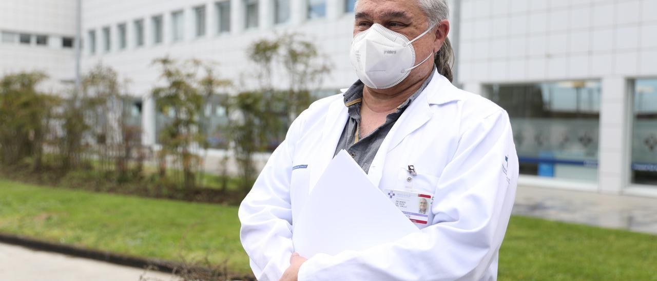 El gerente del Hospital Universitario San Agustín, Ricardo de Dios.