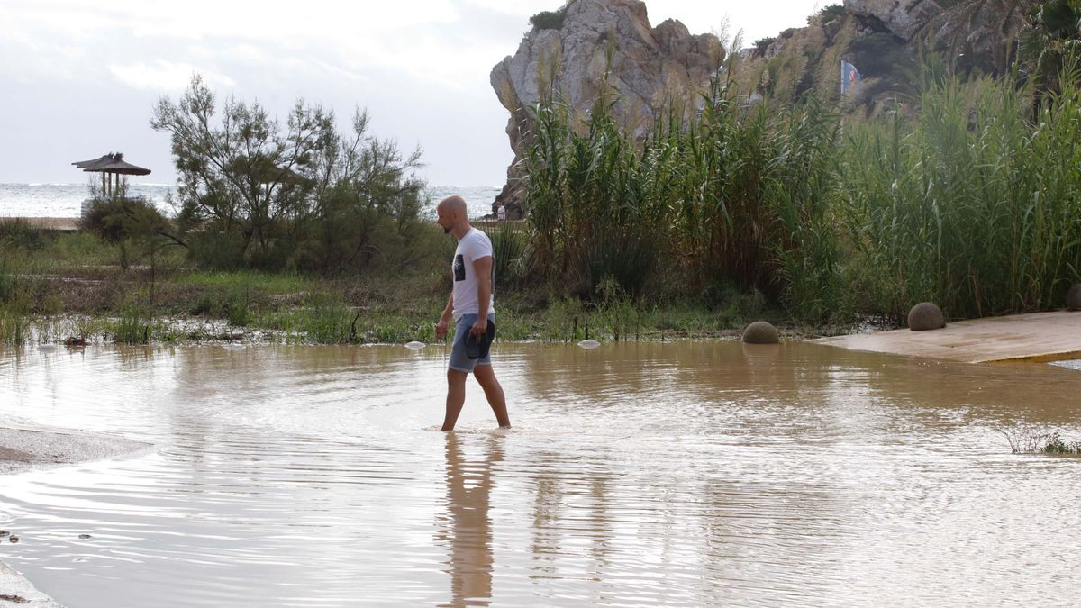Inundaciones en Ibiza