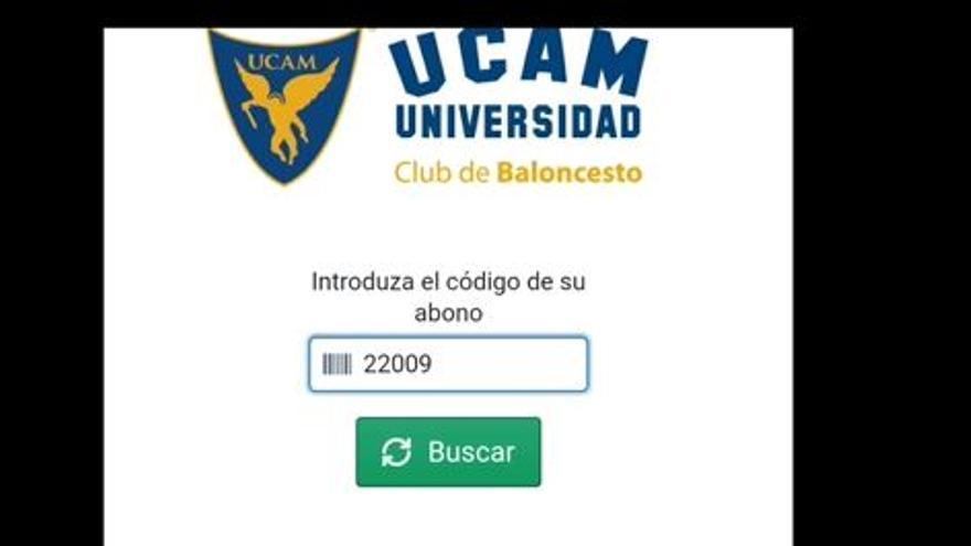 Tutorial para asistir el partido UCAM Murcia-Casademont Zaragoza