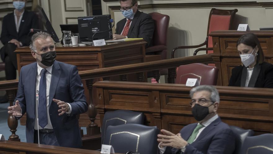 El cuatripartito saca adelante sus segundos presupuestos para Canarias