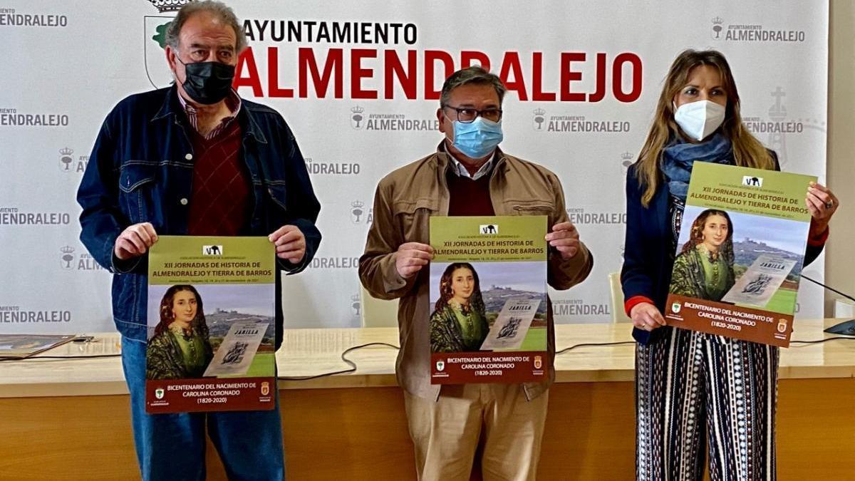 Almendralejo y Nogales se unen gracias a Carolina Coronado