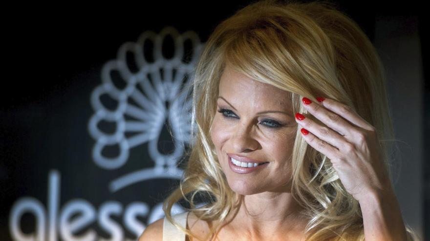 Pamela Anderson, con el independentismo catalán
