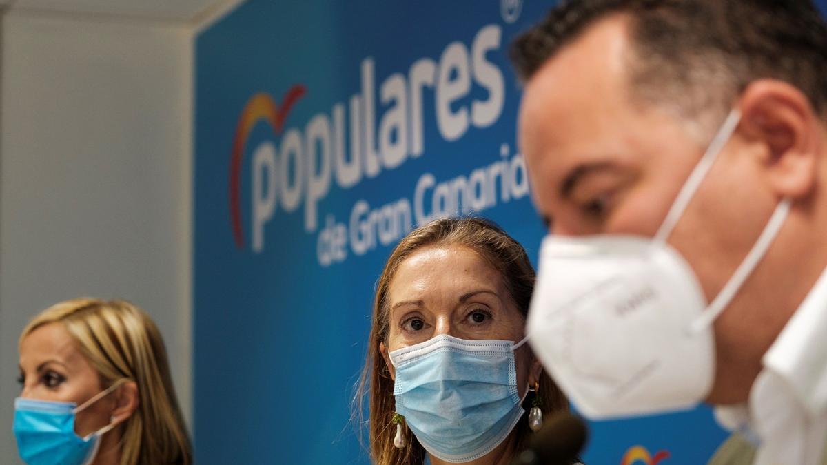 Rueda de prensa del Partido Popular con Ana Pastor