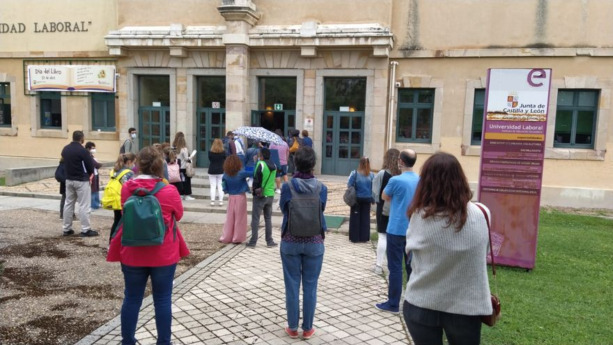 VÍDEO | Así se desarrollan las oposiciones a profesor convocadas en Zamora