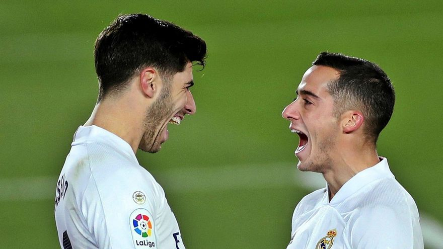 Vázquez y Asensio impulsan al Madrid