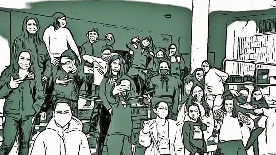 Los alumnos del Alejandro Casona de Zamora hacen rimar el Cerco a golpe de rap