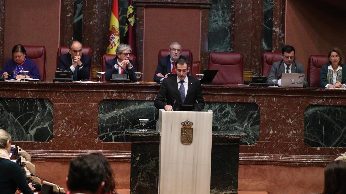 Una sesión plenaria, en foto de archivo.