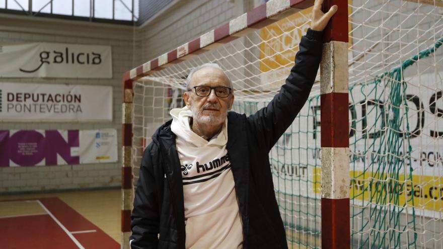 Muere Fran Teixeira, coloso del balonmano gallego