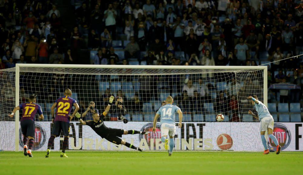 Las imágenes del Celta - Barcelona.