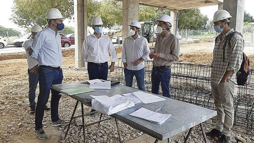 El centro de servicios sociales de Son Xigala ya está en obras