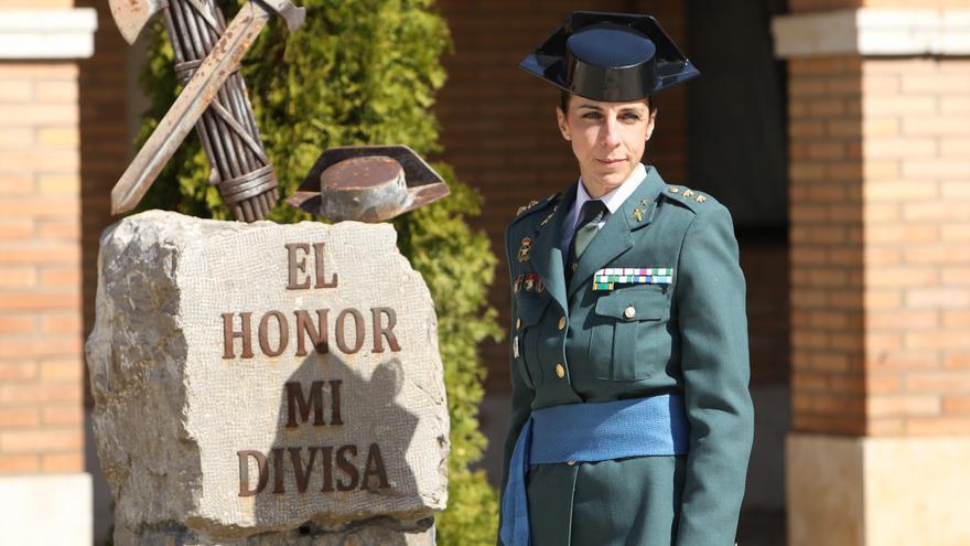 Igualdad y reto demográfico, pilares de Silvia Gil en la Comandancia de la Guardia Civil en Teruel
