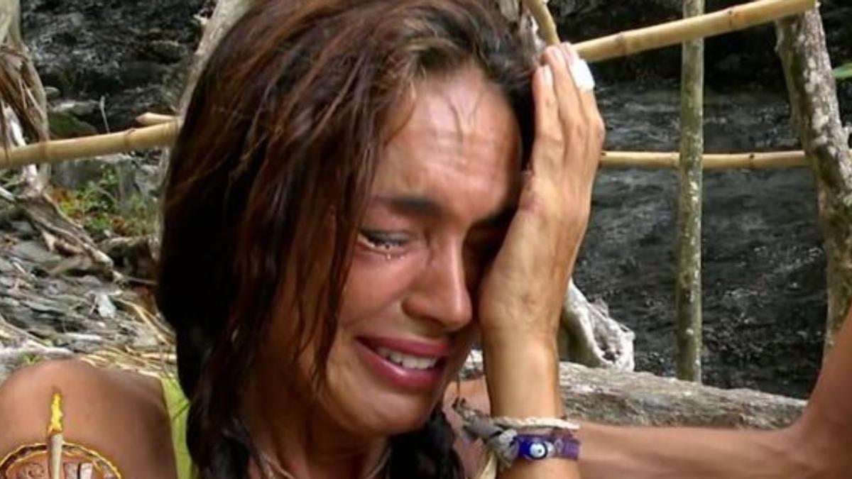 Olga Moreno, totalmente descolocada