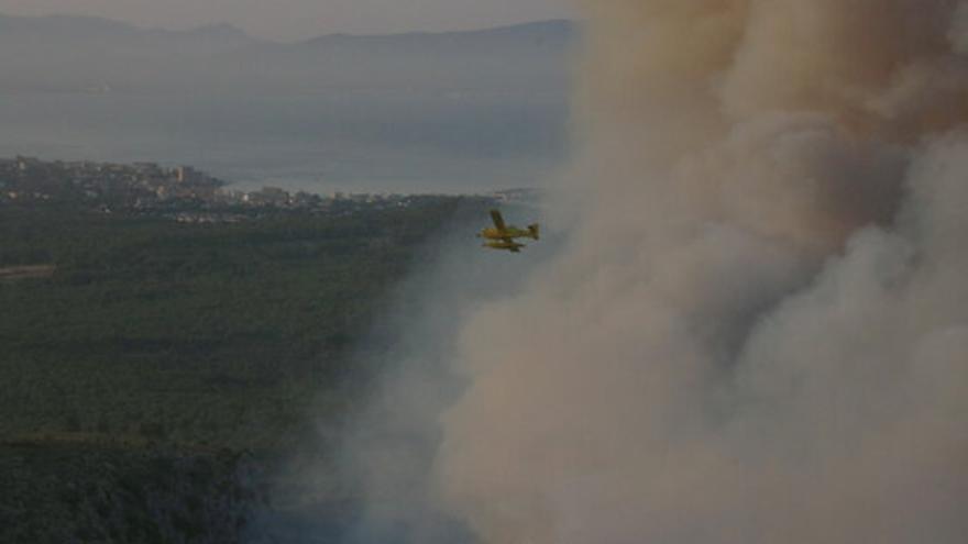 Detenen un piròman per provocar dotze incendis al Parc Natural del Montgrí