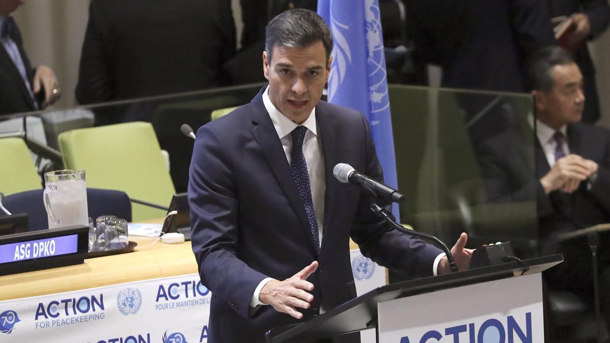 """Sánchez: """"Si los partidos políticos priorizan el conflicto, habrá elecciones"""""""