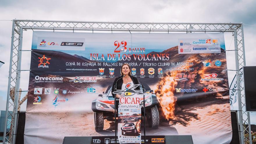 """Espectáculo y pasión para el Trofeo """"Ciudad de Arrecife"""" del XXIII Rallye Isla de los Volcanes"""