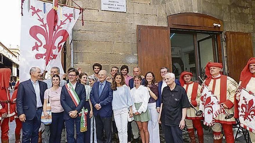 Los Ferragamo, en el callejero florentino