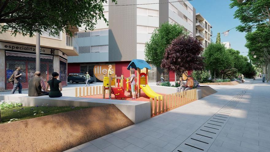 Auftrag für Fußgängerzone in Palmas Viertel Pere Garau vergeben