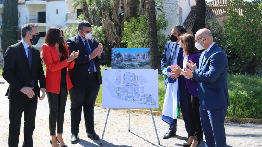Comienzan las obras de reforma para la reapertura del hotel Byblos en Mijas
