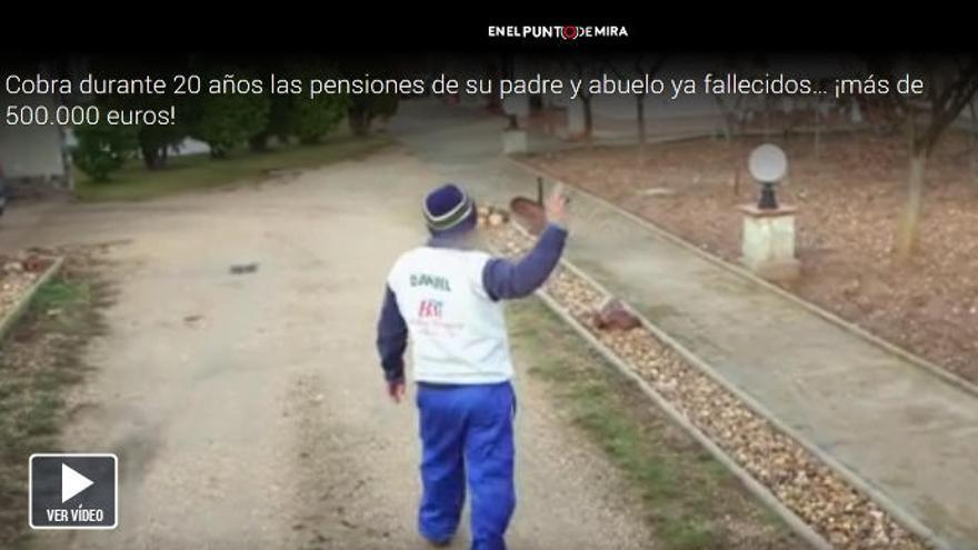 El exjefe de pensiones del INSS de Zamora admite el fraude en televisión