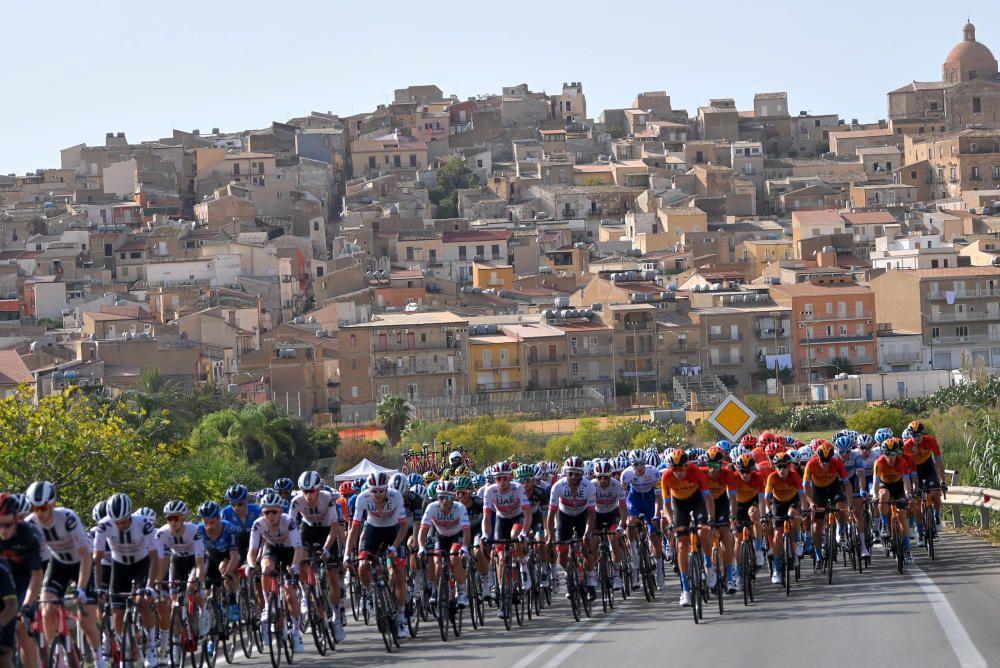 Las imágenes de la 2ª etapa del Giro de Italia