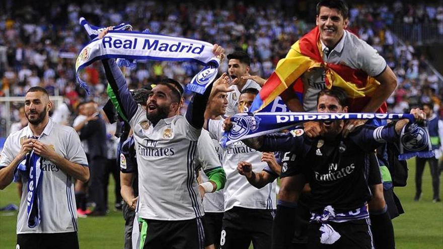 El Madrid no falla en La Rosaleda y conquista la Liga