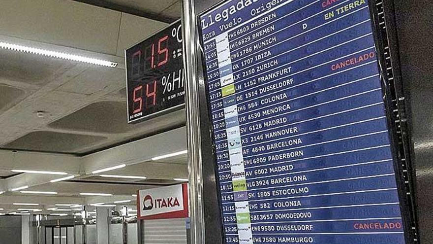 El Govern pretende sancionar a 27 aerolíneas por su mala información