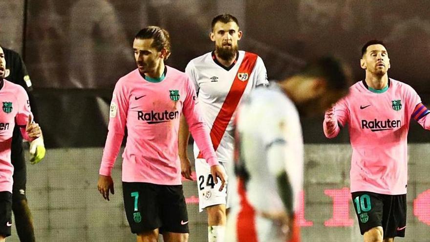 El Barça remunta a Vallecas per continuar ben viu a la Copa del Rei