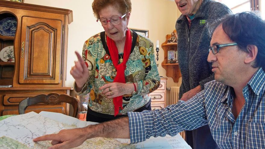 Una bagenca exiliada recupera, 73 anys després, un retrat confiscat al seu pare en un camp nazi