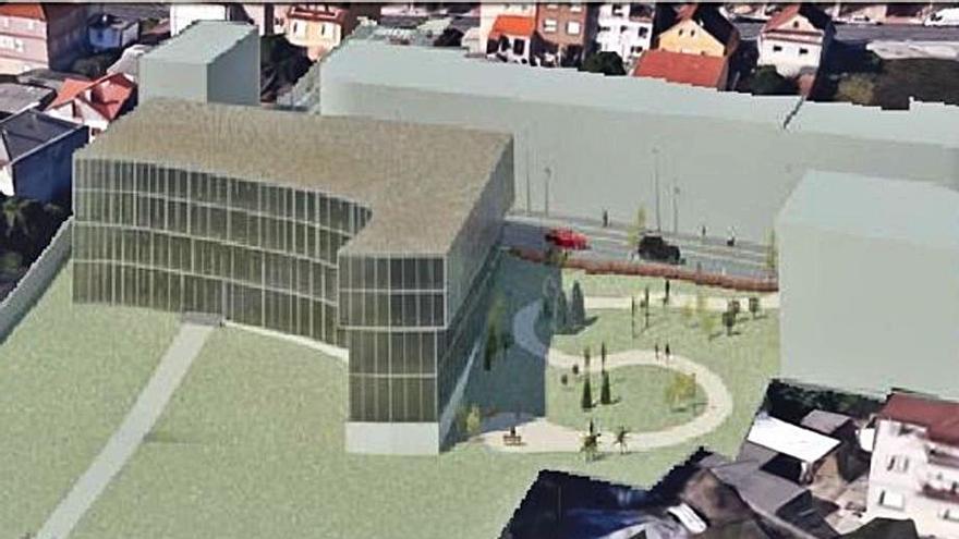 Moaña licita la urbanización de Sisalde y rúa Elisa de la Peña, en donde irá el centro de salud