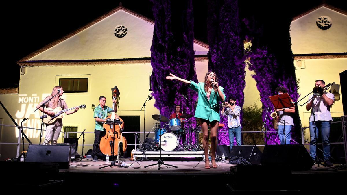 Una de las actuaciones celebradas en el marco del Montijazz.