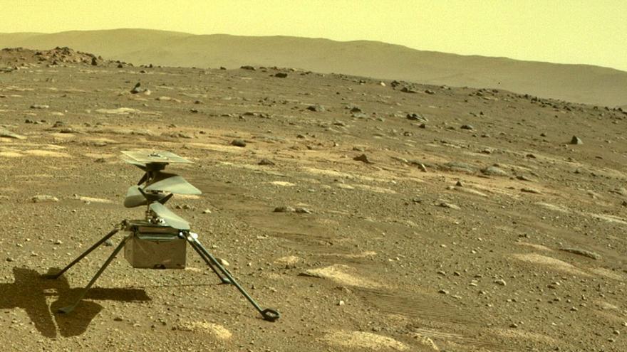 Preparados para el primer vuelo por Marte