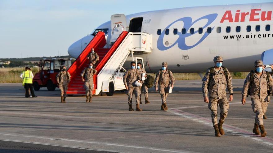 215 militares de la Brigada Extremadura XI regresan de una misión en Mali