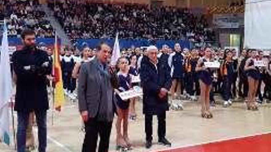 As Travesas acoge el campeonato de grupos de patinaje artístico