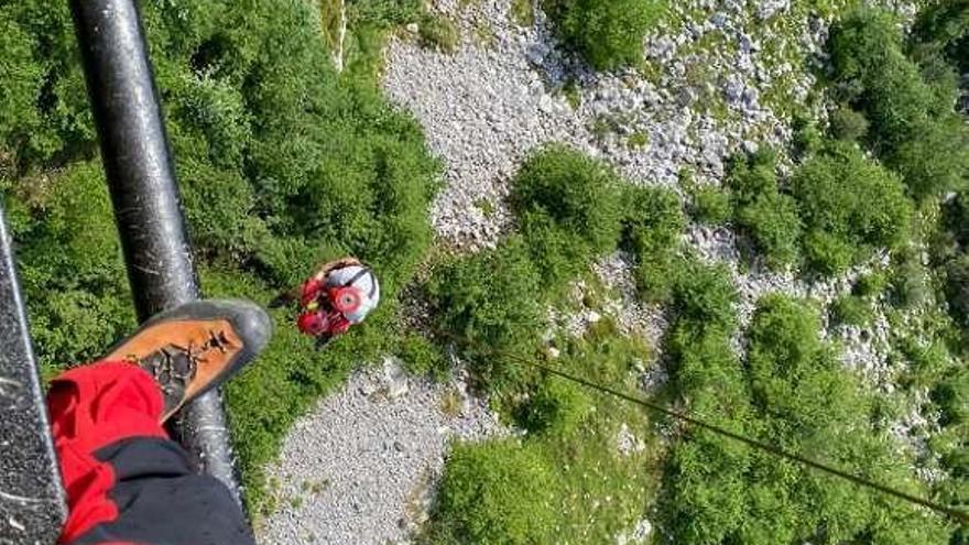 Morcín: localizado un senderista perdido