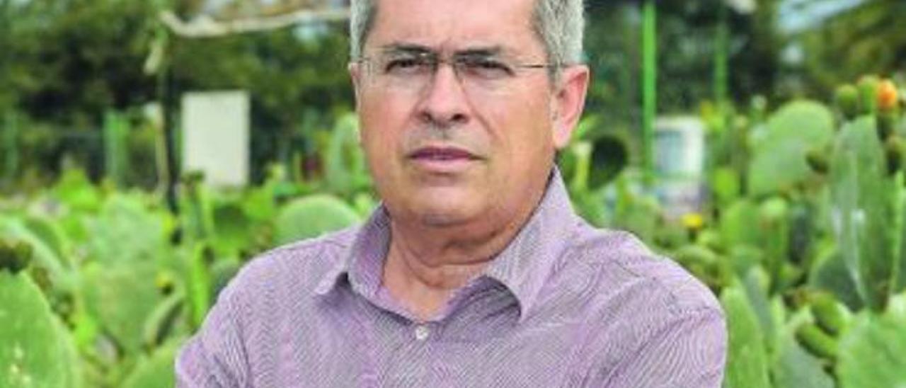 Marco Aurelio Pérez, portavoz del grupo del PP en el Cabildo.