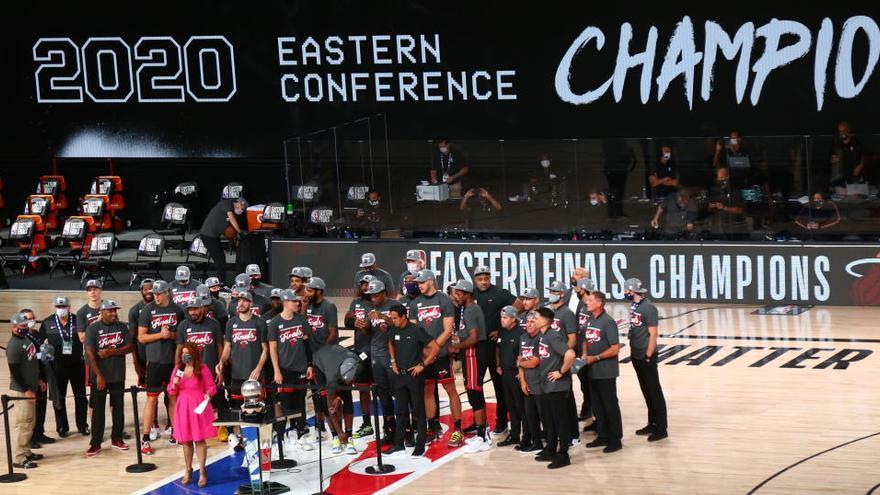 Los Heat, a la final de la NBA como campeones del Este