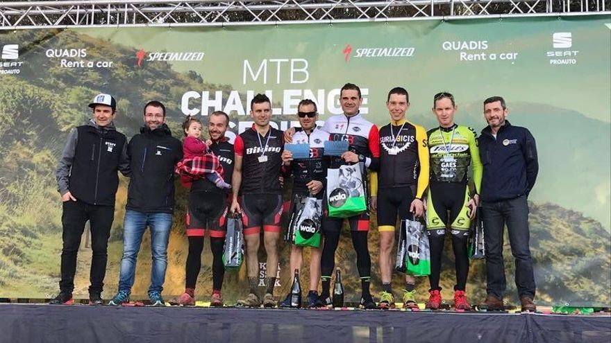 Martí i Pujol, tercers a la MTB Challenge Series de Sant Gregori