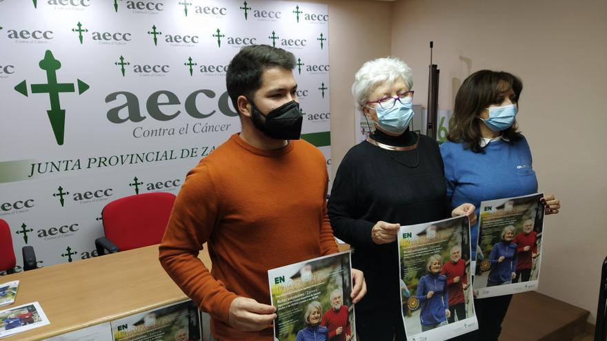 Gratis y abiertas: así son las rutas saludables de la Asociación contra el Cáncer de Zamora