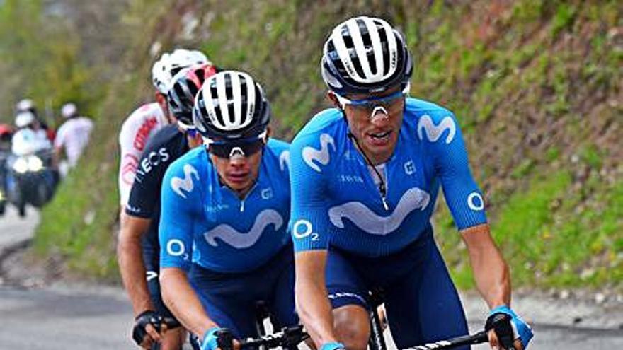 Enric Mas pelea hasta el final por el podio en la penúltima etapa de la Dauphiné