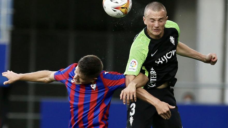La crónica del Sporting: Valiente también en la derrota