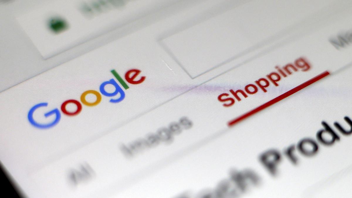 Vista del navegador de Google